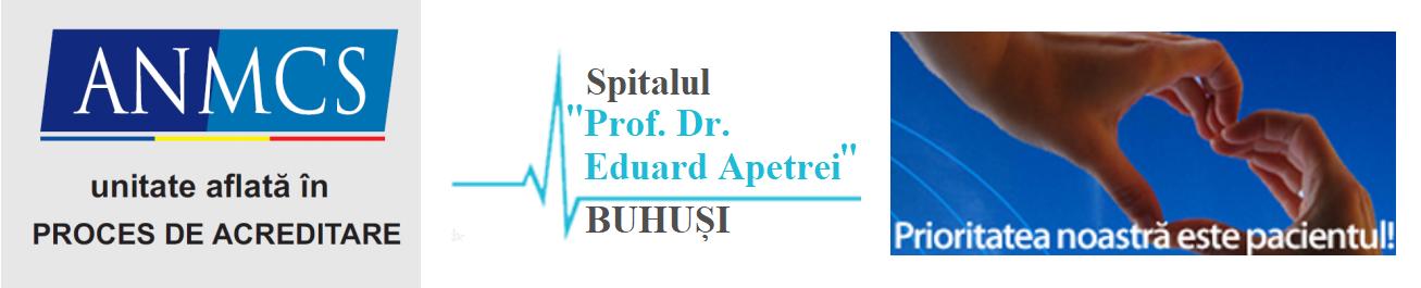 "Spitalul ""Profesor Dr. Eduard Apetrei"" Buhusi"